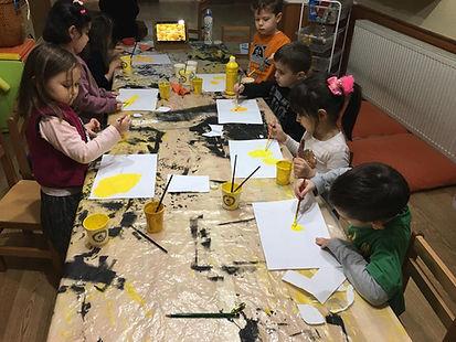 Atölye Kuşağı Anaokulu - Sanat Atölyesi