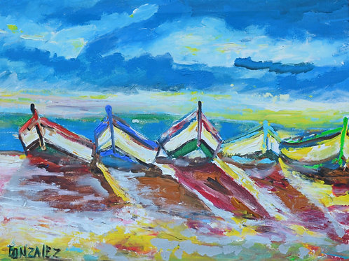 Boats at the Shore