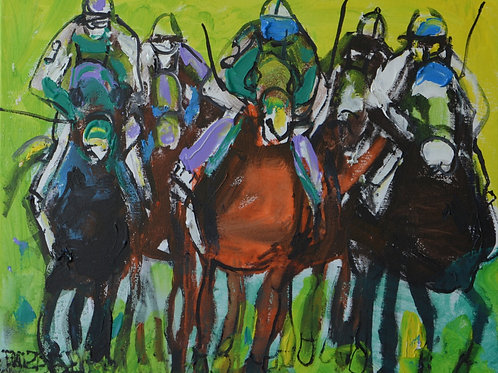 Horse Racing Green