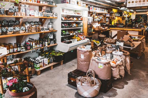 """Tienda Ecologica """"El Granero"""", Burgos."""