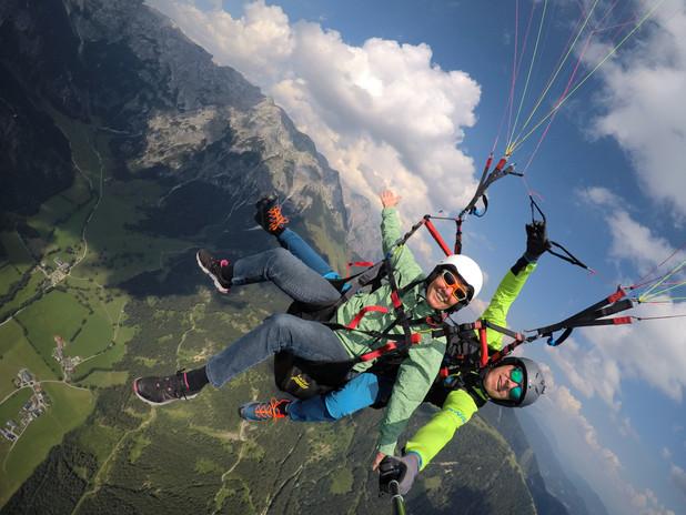 Tandemflug Salzburg   Tom2Fly