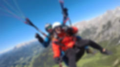Gleitschirm Tandemflug Salzburg Pongau Werfenweng