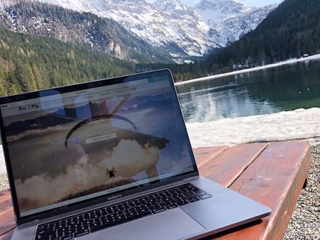 (Home) Office - Die Website wächst