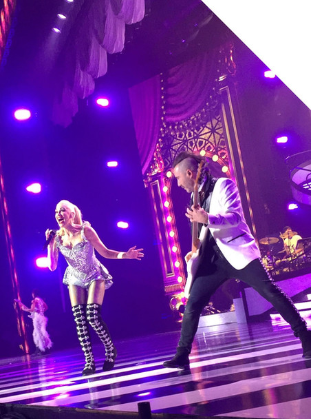 With Gwen Stefani