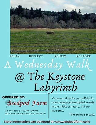 Wednesday Walk Keystone Labyrinth.png