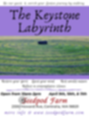 Lenten Journey at The Keystone Labyrinth