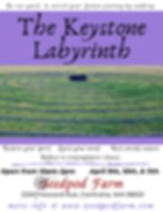 Lenten Journey at The Keystone Labyrinth