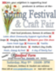 Seedpod Farm Spring Festival & Craft Fai