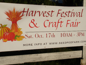 Rain or Shine- See you at the Harvest Festival!