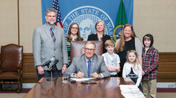 Working to Make a Difference: A Bill Becomes a Law