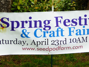 Rain or shine we'll see you at Seedpod Farm!