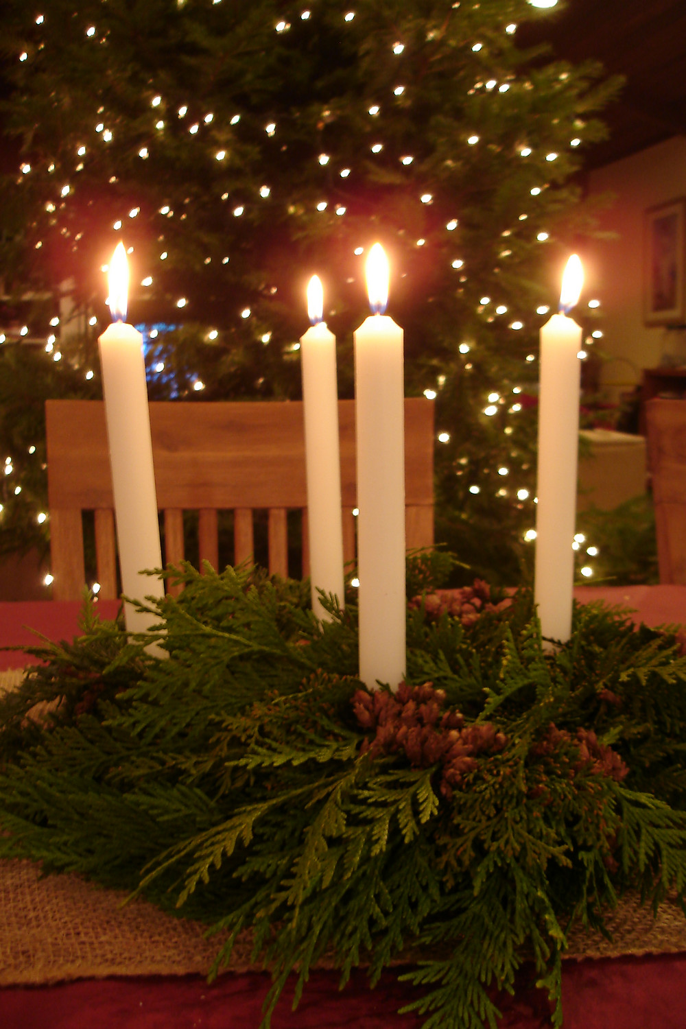 Seedpod Farm Advent Wreath