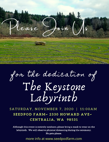 Dedication of The Keystone Labyrinth 202