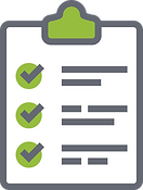 Fertigstellug Checklist Icon