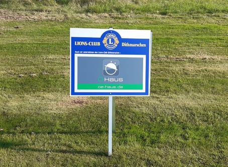 Ö-Haus beim Benefitz-Golfturnier