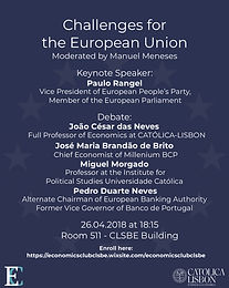 Challenges for the European Union