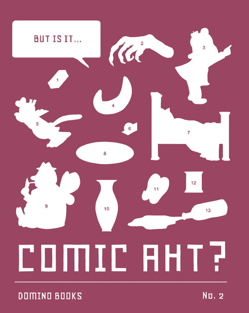 But Is It... Comic Aht?, a print journal on comics