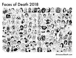 Faces of Death 2018, a t-shirt collaboration