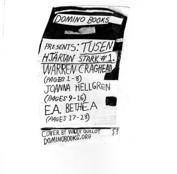 Tusen Hjartan Stark #1, comics anthology published by Domino Comics