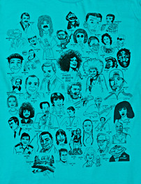 Faces of Death t-shirt collaboration 2012