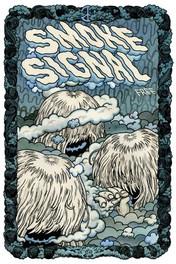 Smoke Signal #1, free comics paper published by Desert island