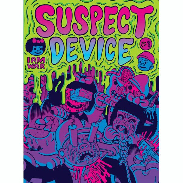 Suspect Device #2, Nancy/Garfield mash-up anthology