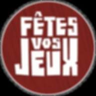 """Logo de """"Fêtes vos Jeux"""""""
