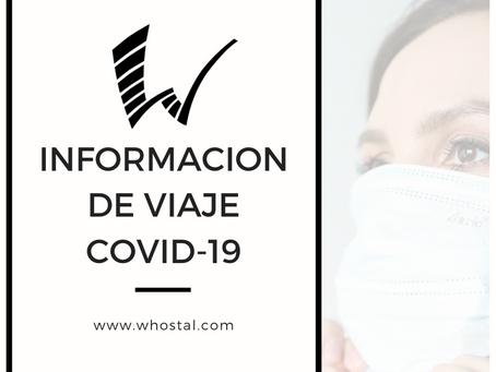 INFORMACION DE VIAJE COVID-19