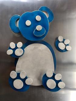 Teddy in Blue