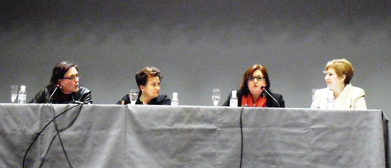 dia+da+Muller+en+Vimianzo,+con+Encarna+Otero,+Nieves+Lema+e+Rosa+Sánchez