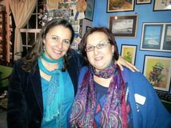 Con Ana Miranda
