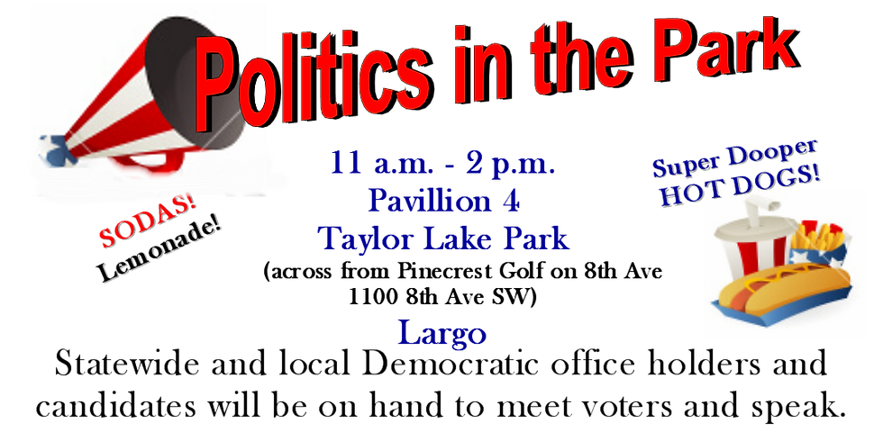 POLITICS IN THE PARK!