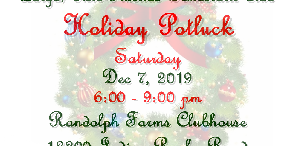 11th Annual Holiday Potluck