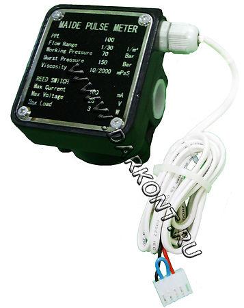Расходомер с импульсным выходом, счетчик дизельного топлива, расходомер масла, счетчик масла, расходомер на овальных шестернях,расходомер для печей, счетчик топлива для котлов, расходомер для котлов