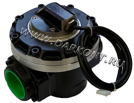 Счетчик расходомер топлива, для точного измерения дизельного топлива, точное измерение керосина, точное измерение жидкости,  точное измерение топлива, счетчик с импульсным выходом, механический расходомер