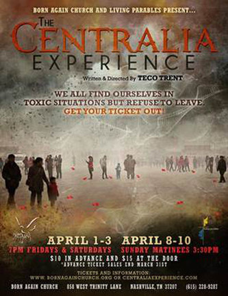 Coming This April, Chazz performs in the riveting stage play THE CENTRALIA EXPERIENCE !!!