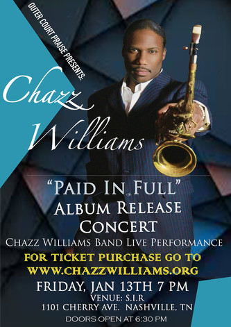 """COMING SOON! """"PAID IN FULL"""" ALBUM RELEASE CONCERT!"""