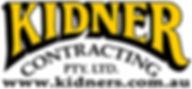 Kidner logo  Website kidners  black no b