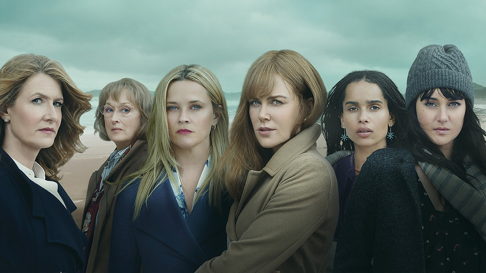 The cast of Big Little Lies (HBO)