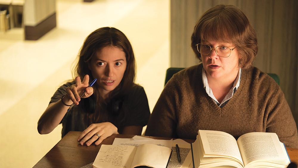 Director Marielle Heller, Melissa McCarthy