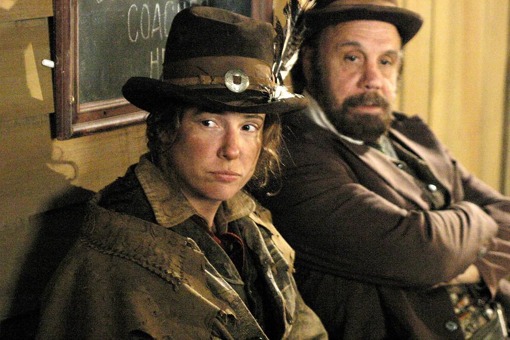 Calamity Jane & Pal Charlie Utter