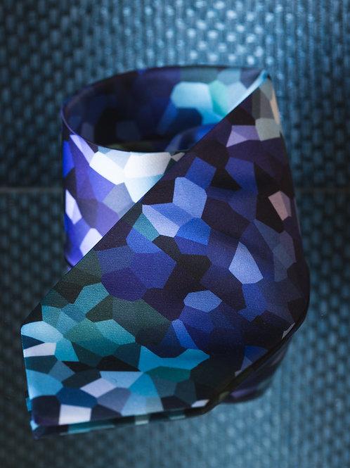Kaleidoscope - glacier blue tie