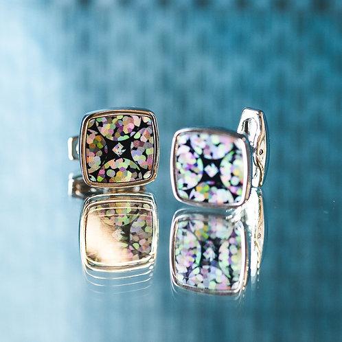 Diamond Bubble- cufflinks