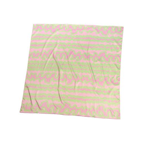 Bubblegum- print scarf