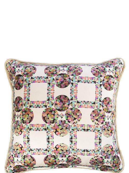 Diamond Bubble - Silk cushion