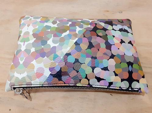 Bubble - clutch bag (leather/vegan)