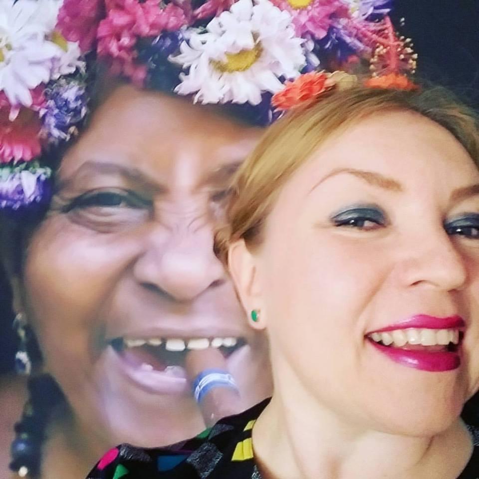 Krista & Print ' Cuban Lady '(Bo Concept)