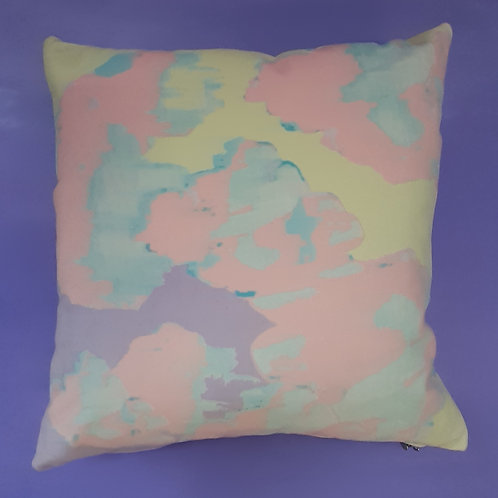 Candysky velvet cushion