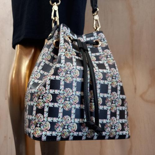 Diamond Bubble -  Bucket bag (leather)