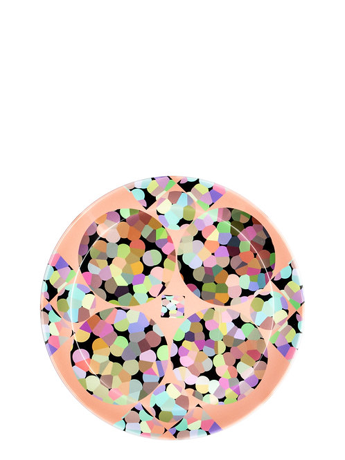 Diamond Bubble- plate set (4)